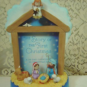 Hallmark Manger advent count down to Christmas